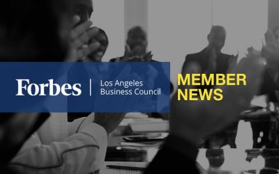Forbes Los Angeles Business Council Member News – September 2019
