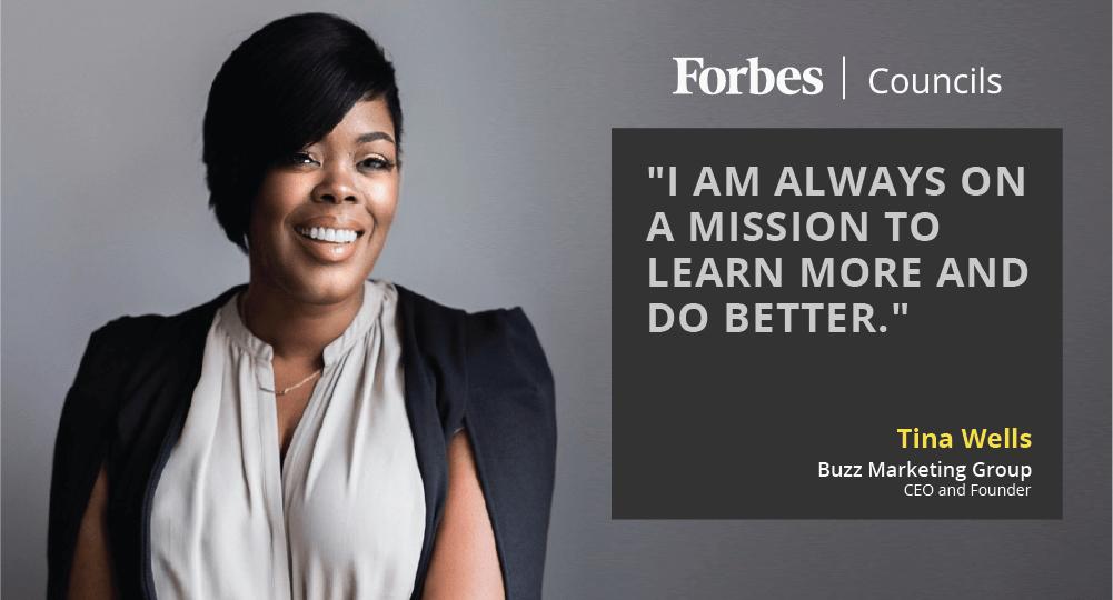 Member Spotlight: Tina Wells, Forbes Agency Council