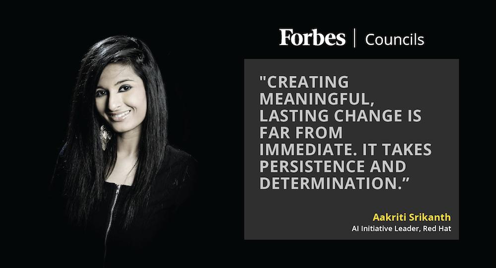 Member Spotlight: Aakriti Srikanth, Forbes Communications Council