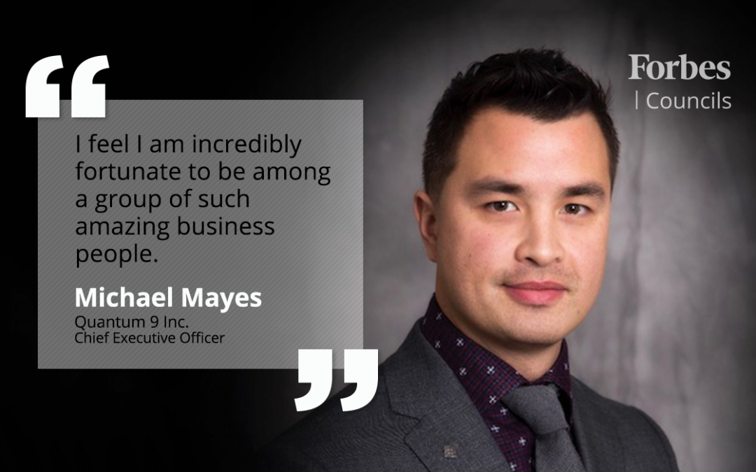 Cannabis Entrepreneur Michael Mayes Says Forbes Councils Increases His Business Authority and Legitimacy