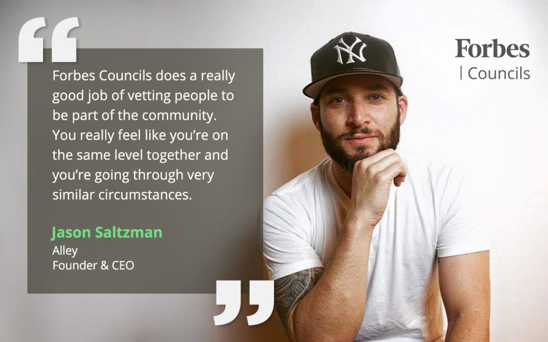 How Forbes Councils Member Jason Saltzman Builds Community
