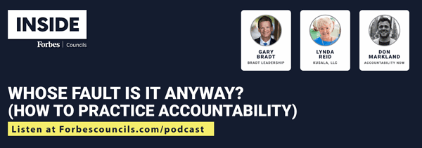Listen: Whose Fault is it Anyway? (How to Practice Accountability)