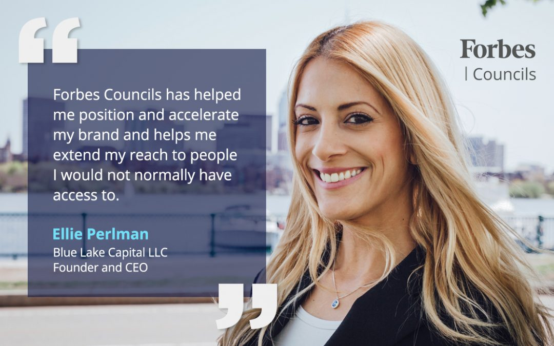 Forbes Councils Publishing Gives Ellie Perlman a Marketing Edge for Her Company