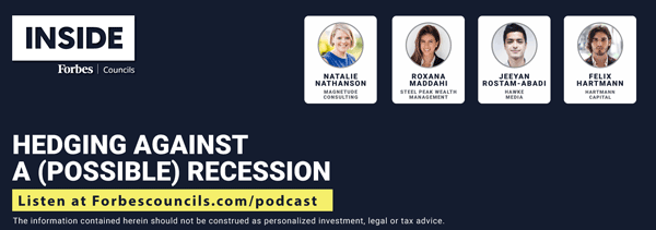 Listen: Hedging Against a (Possible) Recession