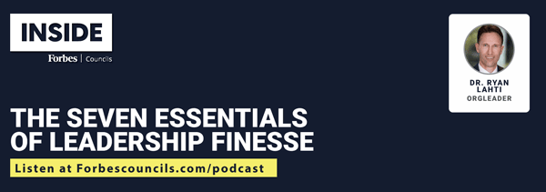 Listen: The Seven Essentials of Leadership Finesse