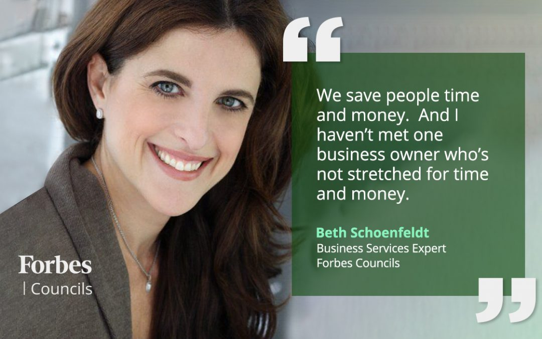 Beth Schoenfeldt Helps Forbes Councils Members Save Time and Cut Expenses