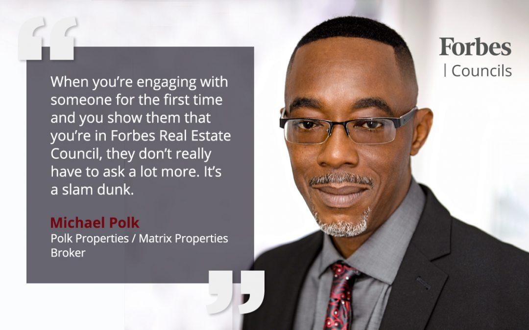 Forbes Councils Membership Helps Michael Polk Refresh His Brand