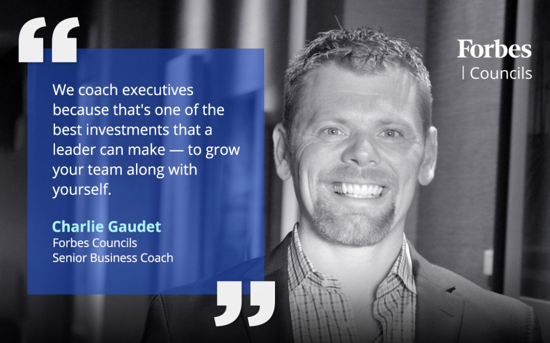 Charlie Gaudet Leverages His Coaching Expertise for Forbes Councils Members