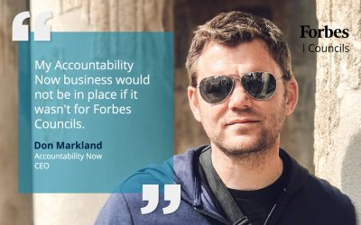 Forbes Councils Publishing Inspires Don Markland to Start His Own Business