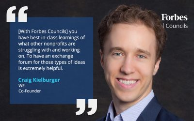 Craig Kielburger says Forbes Councils Showcases Best-in-Class Learnings
