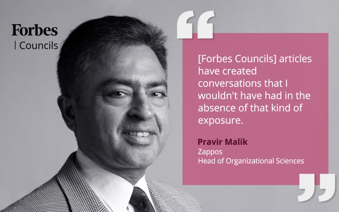 Pravir Malik Says Forbes Councils Spurs Valuable Connections and Conversations