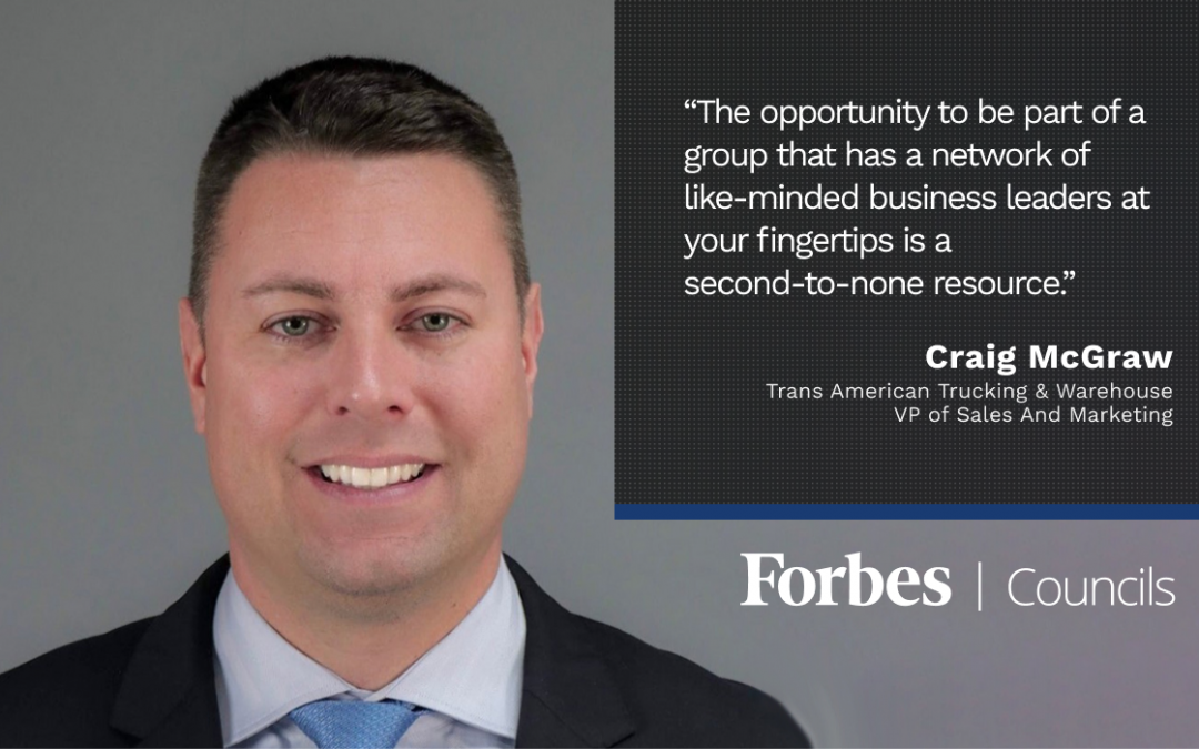 Craig McGraw Lauds Forbes Councils as a Second-to-None Resource